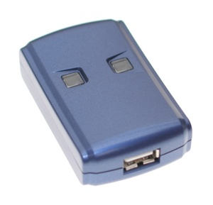 2-Computer to One Printer Auto Hot-Key USB 2.0 High-Speed Switch - Image A