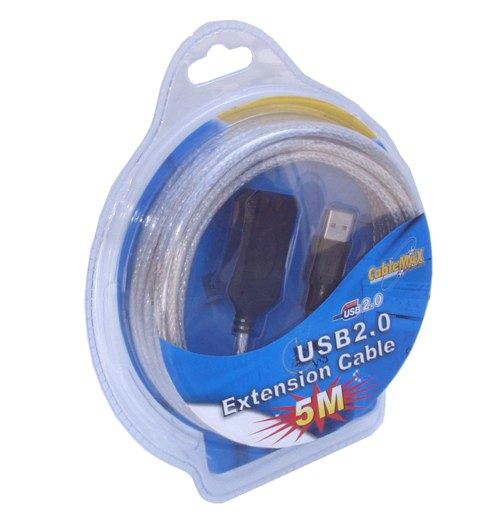 16ft USB 2.0 High-Speed Active Extension Cable Stack up to 5 to get 80ft. - Image A