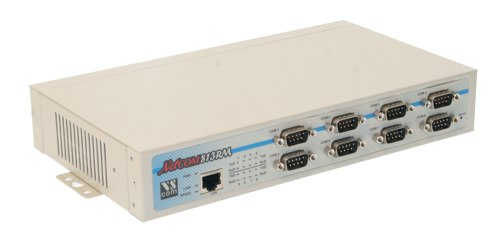 8 Port RS232/422/485 devices located virtually anywhere (via Ethernet or Internet) - Image A