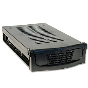 Black ICE Ultra 2-Bay Firewire 800/400 Drive Enclosure: Extra Tray - Image A