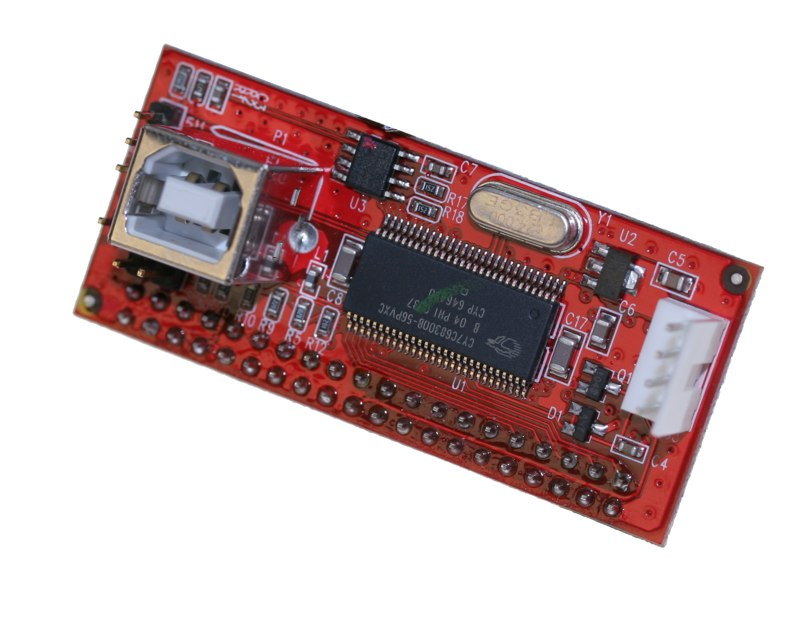 IDE Device --- > USB2.0 Device Mini Vertical Bridge (for IDE device) - Image A