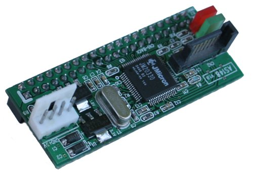 IDE Hard Drive to SATA Port Adapter , IDE to SATA Converter - Image A
