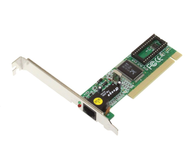 RTL8139D Network Card PCI for All Operating Systems 10/100 - Image A