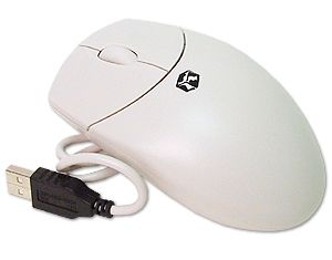 USB 3-Button Scroll Mouse --BULK-- OEM by LOGITECH