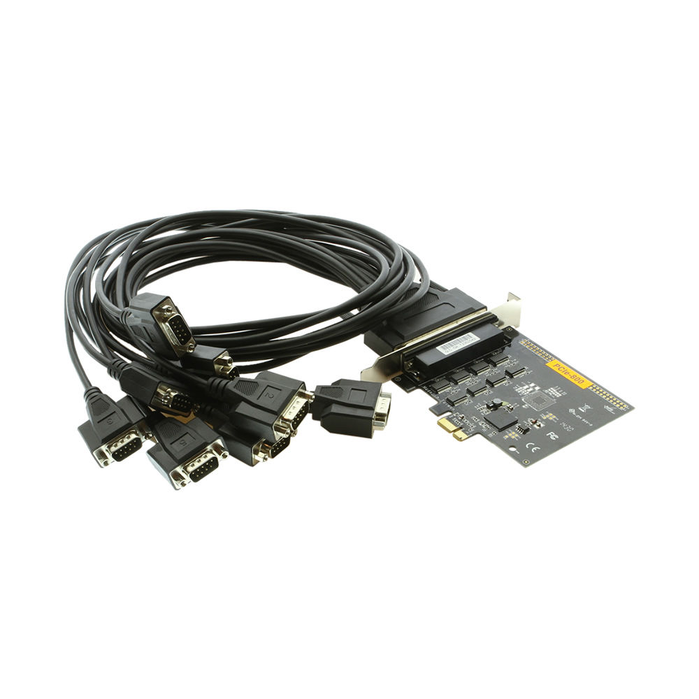 8-Port RS-232 PCI Express Serial Board Vista/XP Oxford Chip