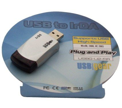 SIR Ultra Sleek and Small USB Infrared Adapter IrDA for Notebooks Only $14.98  at USBGear.com