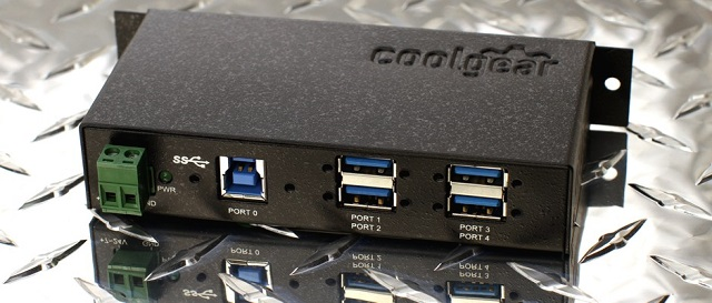 4 port usb 3.0 mini hub industrial