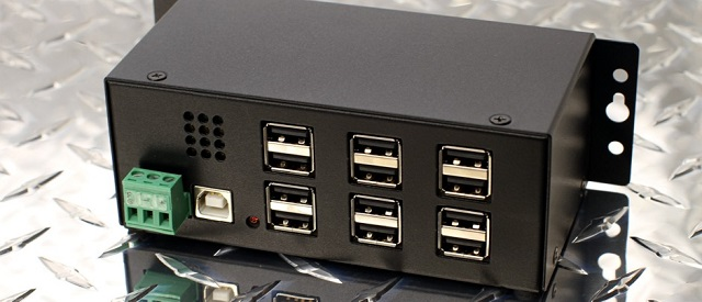 12 port usb 2  hub industrial