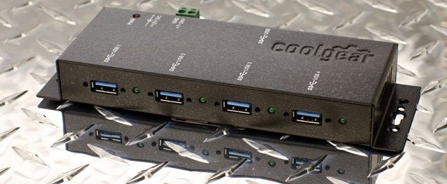 4 port usb 3.0 hub industrial