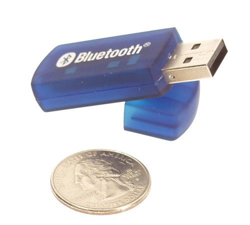 Bluetooth Wireless USB Networking Dongle Class 1 (480ft) Only $27.96  at USBGear.com