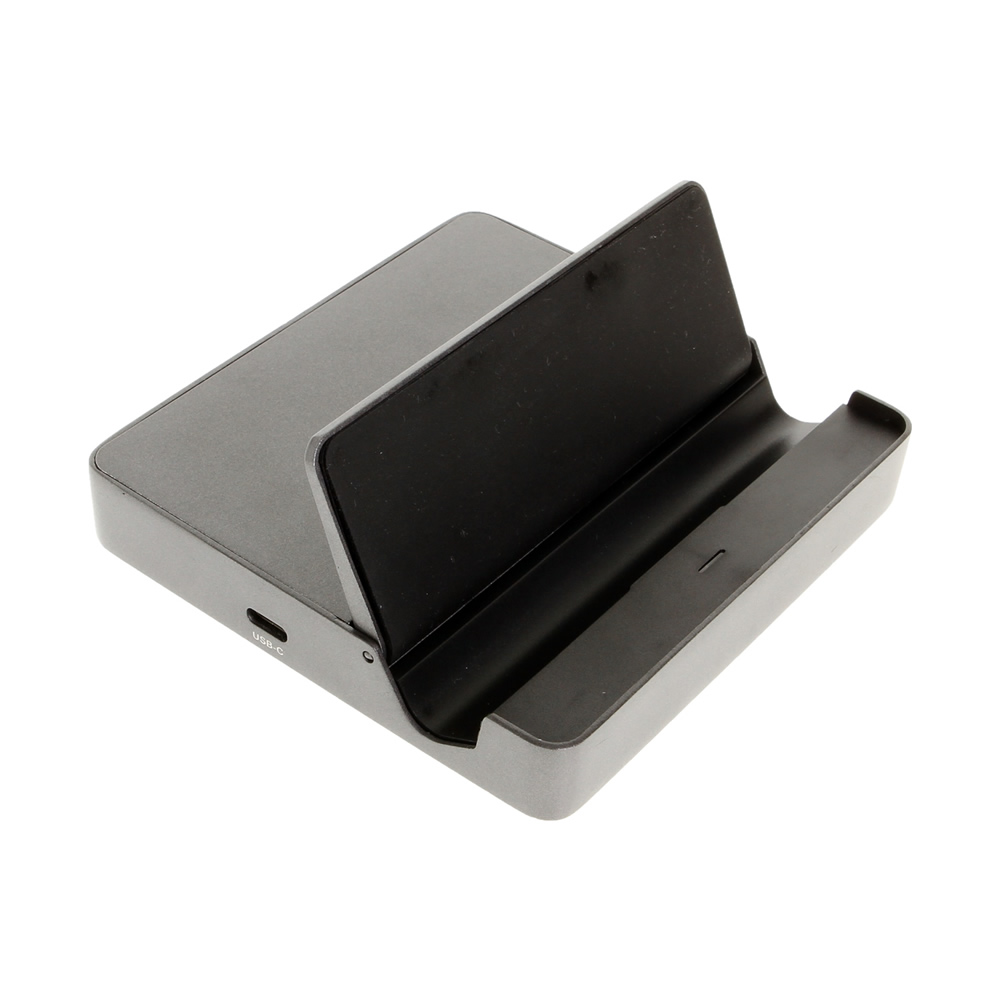 USB C Docking Station w/Pass through Charging and Gigabit Ethernet - Image B