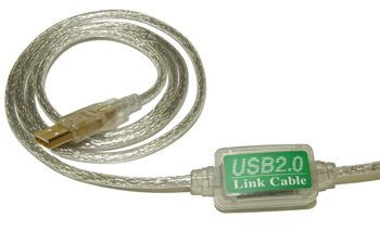 USB 2.0 HIGH-SPEED PC to PC LINK CABLE by USBGEAR Only $37.89  at USBGear.com
