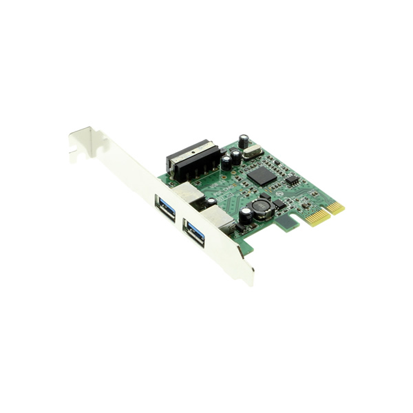 USB 3.0 PCIe Host Controller Card - Two USB 3.0 Ports