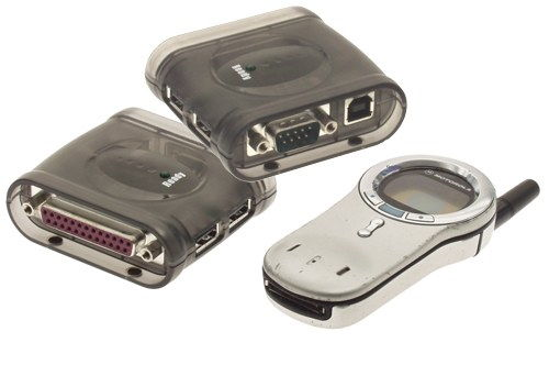Docking Station with 2 Port USB HUB USB 2.0 ports , One serial port and One printer port  Only $29.88  at USBGear.com