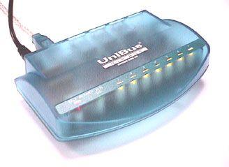 7 port Uni-BUS USB HUB