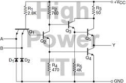 High Power TTL Diagram