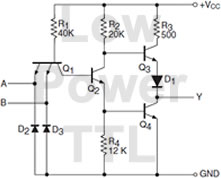 Low Power TTL Diagram