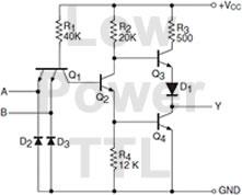 Low Power TTL Diagram