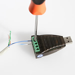 Screw Down Terminal for RS485 Wiring